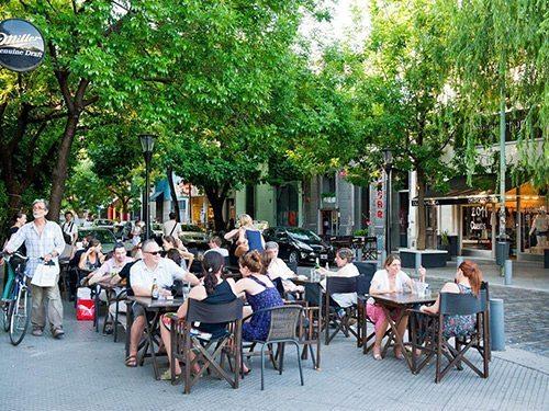 Sidewalk Cafe Dining