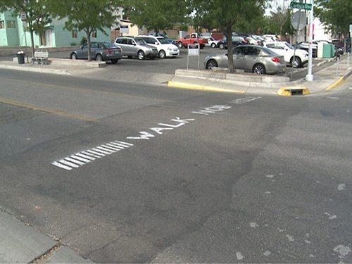 ABQ Empty Street