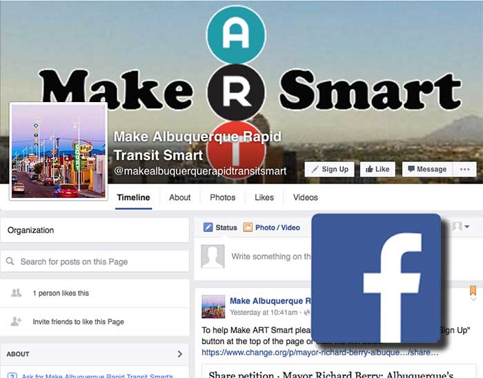 Make ART Smart Now on Facebook